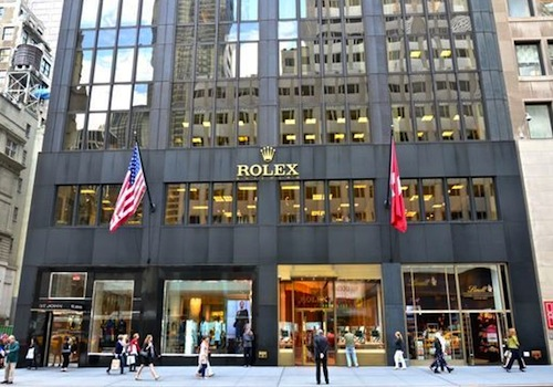 Rolex Showroom 5th Avenue NYC