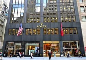 Rolex Showroom 5th Avenue NYC